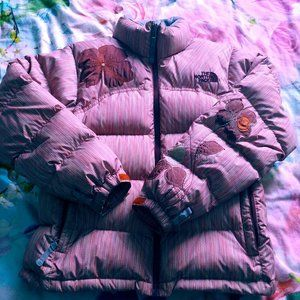 North Face puffer jacket spécial édition